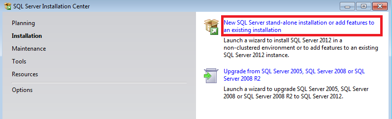 Install Microsoft Sql Server Components Ms Sql Express And Ms Sql